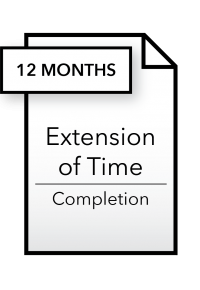 Form_Extension of Time - Completion - 12 months