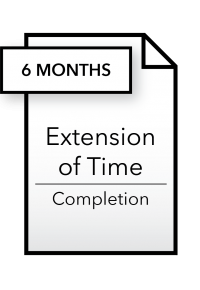Form_Extension of Time - Completion - 6 months