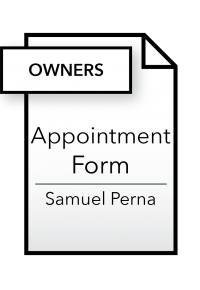 Form_Appointment Form - Owners - Samuel Perna