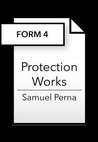 Form_Protection Works - Form 4 - Samuel Perna